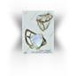 "Ring  ""The Cloud"",gold, diamonds, moonstone"